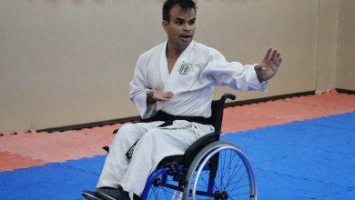 Foto de Araucária tem o primeiro karateca cadeirante faixa preta federado do Paraná