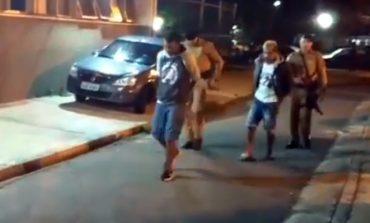 PM detém 5 suspeitos de furtar concessionária de veículos em Araucária
