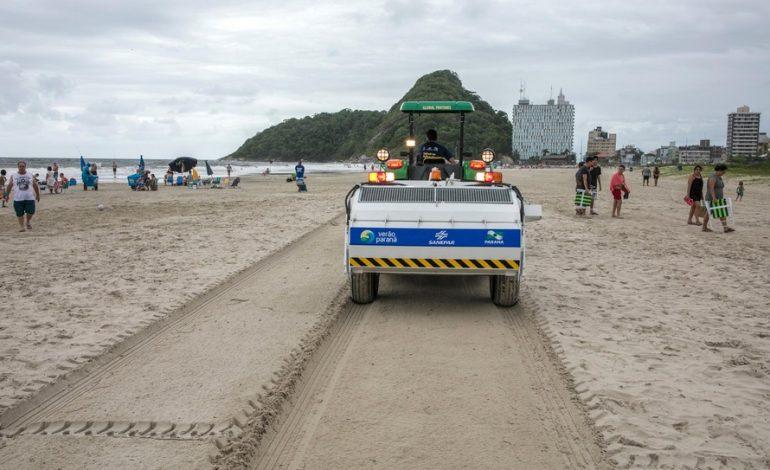 Em 30 dias, foram coletadas 480 toneladas de lixo das praias