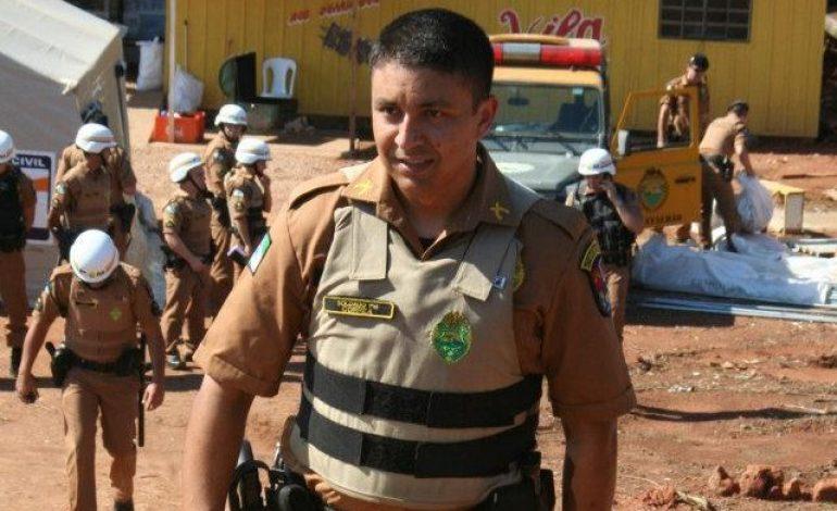 Soldado da PM de Araucária é baleado em tentativa de assalto e após cerco policial suspeito morre em troca de tiros
