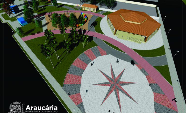 Praça da Bíblia será ampliada em Araucária e contará com Centro de Eventos