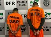 Em ação rápida homens são presos suspeitos de roubar farmácia em Araucária