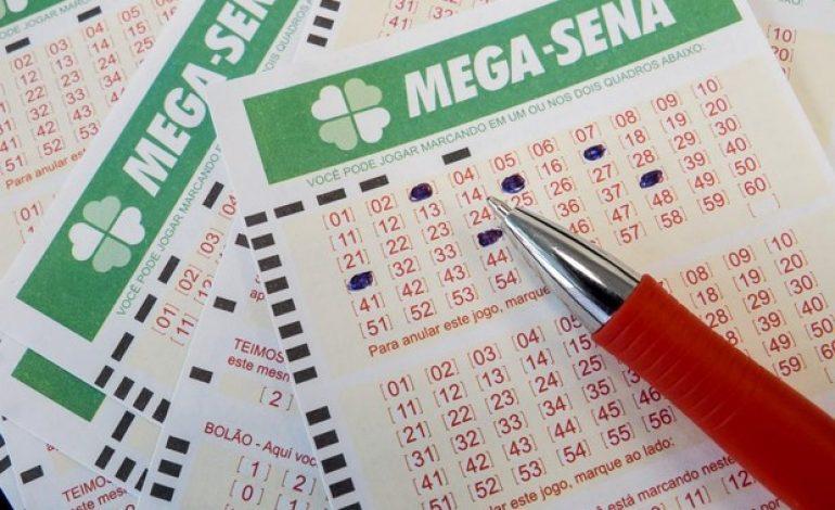 Mega-Sena acumula e prêmio pode chegar a R$ 48 milhões