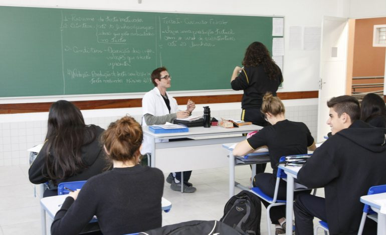 Rede estadual de ensino se prepara para início das aulas