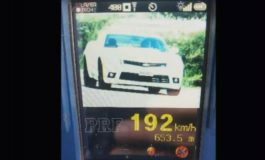 Carro é flagrado a 192 km/h em estrada do Paraná. Assista!