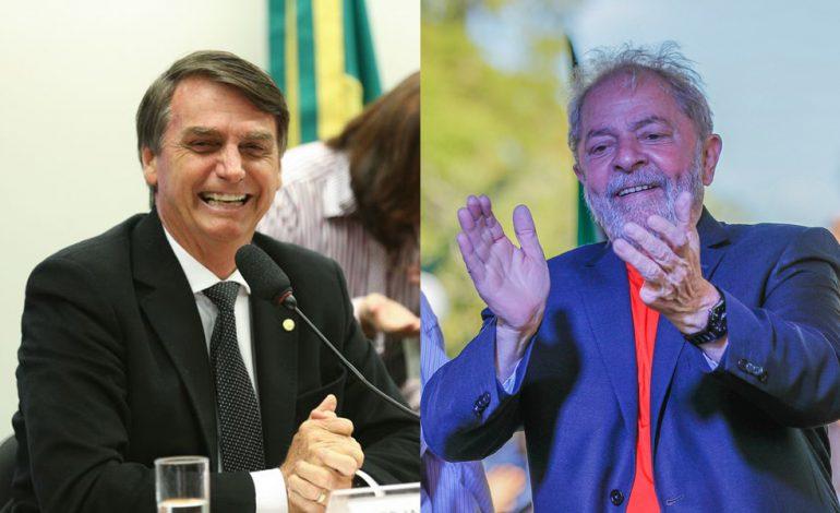 Bolsonaro vem a Curitiba na próxima quarta, mesmo dia da caravana de Lula