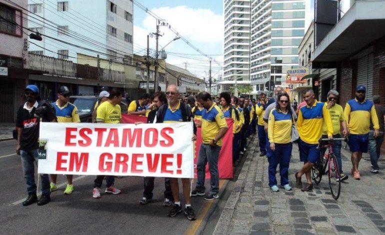 Trabalhadores dos Correios entram em greve nesta segunda