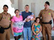 Policiais salvam bebê de um mês pela segunda vez em Curitiba