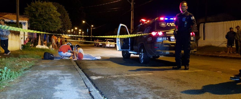 Jovem é assassinado a tiros no Capela Velha em Araucária