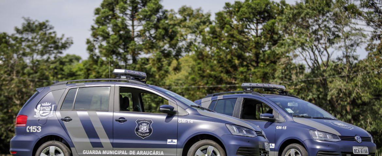 Guarda Municipal de Araucária recebe duas novas viaturas