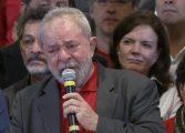 Lula chora e grava áudio para vídeo que será divulgado pelo PT após prisão; tempo real