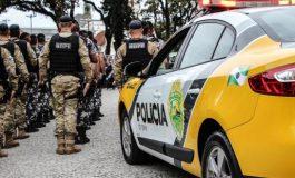 Polícia Militar inicia operação de reforço na segurança em todo o Paraná