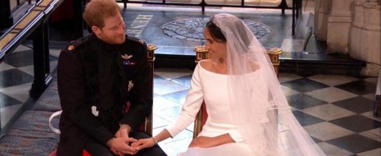 Príncipe Harry e atriz Meghan Markle se casam