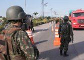 Exército vai às rodovias paranaenses para escolta de produtos e liberar estradas