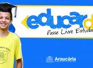 Prefeitura de Araucária agora garante transporte gratuito a acompanhante de aluno de até 12 anos
