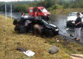 Acidentes próximos deixam cinco mortos na Rodovia do Xisto