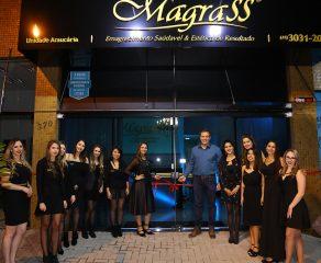 EMAGRECIMENTO SAUDÁVEL: Clínica Magrass é inaugurada em Araucária