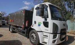 Novo caminhão comboio já está dando apoio a maquinários na zona rural de Araucária