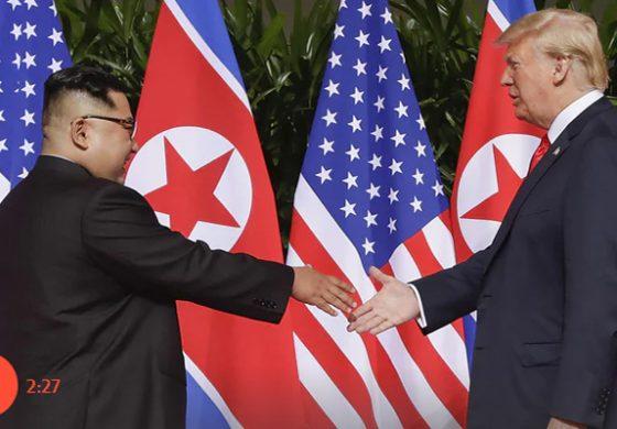 Assinamos acordo com Coreia do Norte, mas sanções seguem em vigor, diz Trump