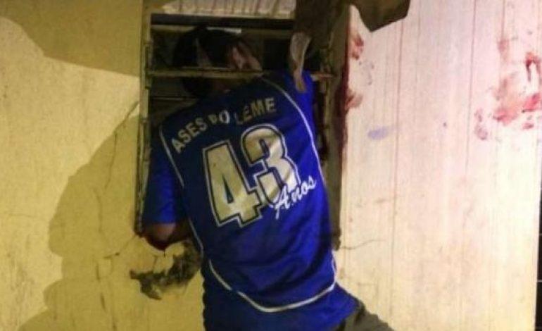 Ladrão tenta arrombar escritório em Goioerê e fica entalado em janela