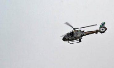 Helicóptero da PM persegue ladrões em fuga em Pinhais, veja o vídeo