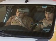 Policiais de Araucária se comovem ao prender suspeito de furtar obra e arrecadam doações para família