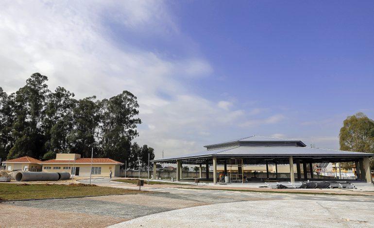 Obras de ampliação da Praça da Bíblia estão em fase final