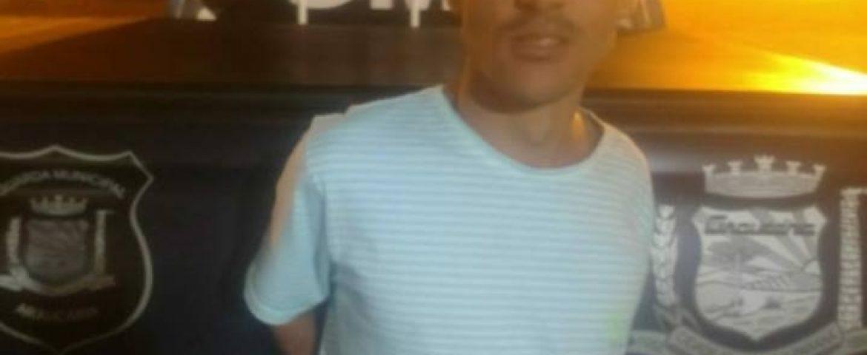 Homem acusado de agredir própria mãe é preso pela Guarda de Araucária