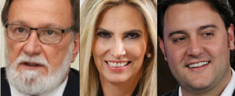 Pesquisa aponta empate técnico entre Ratinho e Osmar; Cida aparece com 12,5%