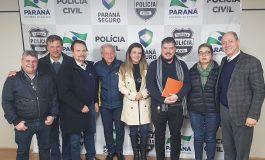 ASSOVEPAR e ACP realizam reunião com Delegado Geral da Polícia Civil