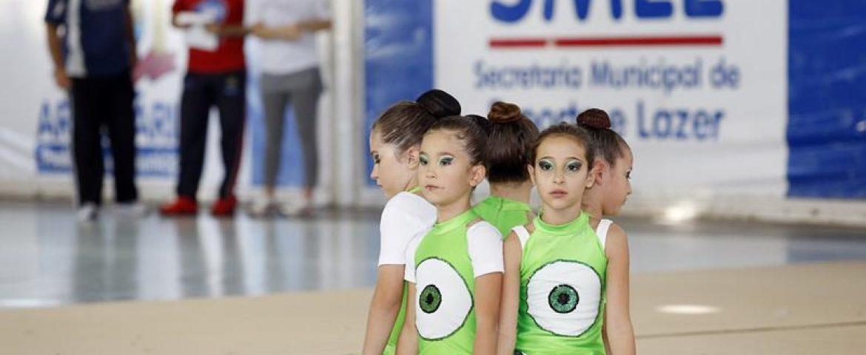 Parque Cachoeira receberá eventos de ginástica rítmica no sábado (07)