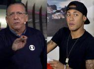 Sem poder falar na Globo, Galvão Bueno quebra o protocolo e detona Neymar em rádio
