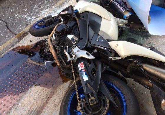 Acidente no Batel: Moto pilotada por jovem estava a 120 Km/h