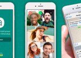 WhatsApp libera chamada de vídeo em grupo para até quatro pessoas