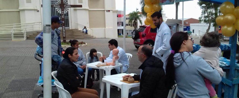 Evento sobre incentivo à amamentação realiza cerca de 150 atendimentos em Araucária
