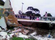 """Muro de escola cai e centenas de alunos têm aulas suspensas: """"Tragédia anunciada"""""""