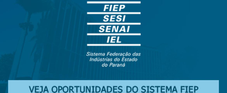 FIEP Araucária-PR realiza processo seletivo para Monitor