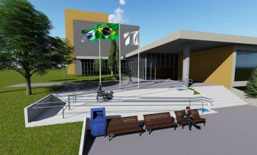 Entrada principal da Prefeitura contará com rampa de acessibilidade em breve