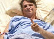 Bolsonaro coloca dreno e evolui sem dor, diz novo boletim médico