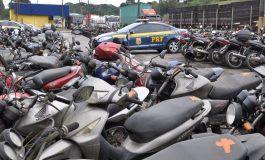 PRF realiza leilão de mais de 800 veículos