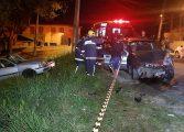 Motorista bêbado provoca grave acidente no Abranches