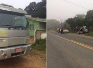 Mulher morre após ser jogada para fora de caminhão e ex-marido é preso suspeito por crime