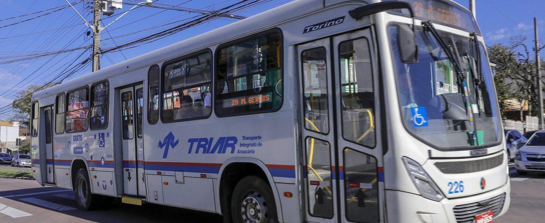 Ônibus do Triar terão horário de sábado no domingo (28)