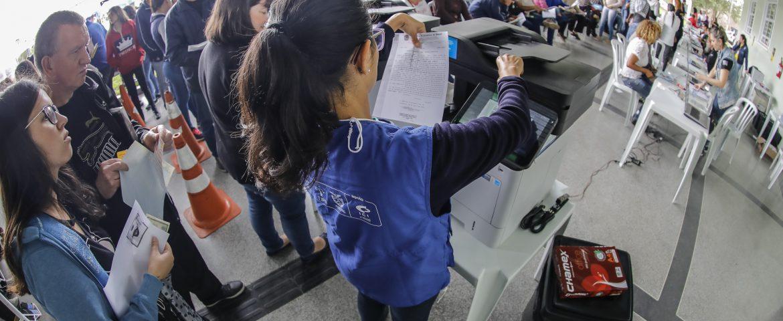 Justiça no Bairro Sesc Cidadão realizou mais de 2.700 atendimentos em Araucária