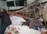 Casas em condomínio desabam em Colombo e assustam moradores