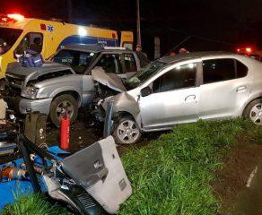 Grave acidente deixa cinco feridos na BR-376