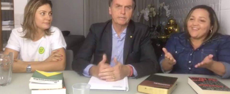 Primeiro pronunciamento de Bolsonaro eleito foi pelas redes sociais; confira