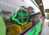 Curitiba testa ônibus 100% elétrico na Linha Circular-Centro