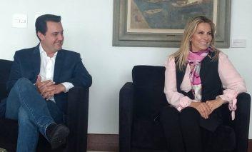 Ratinho Jr. encontra atual Governadora para falar sobre transição do Governo