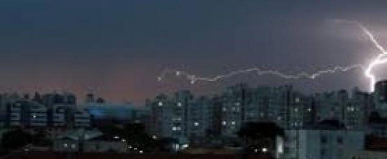 Defesa Civil de Curitiba emite alerta de tempestades para os próximos dias